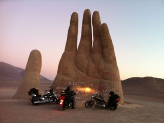 Hand-in-the-desert